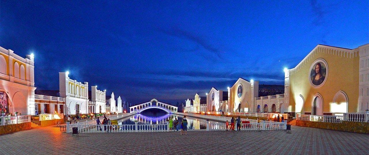 Сибирская Венеция - город развлечений